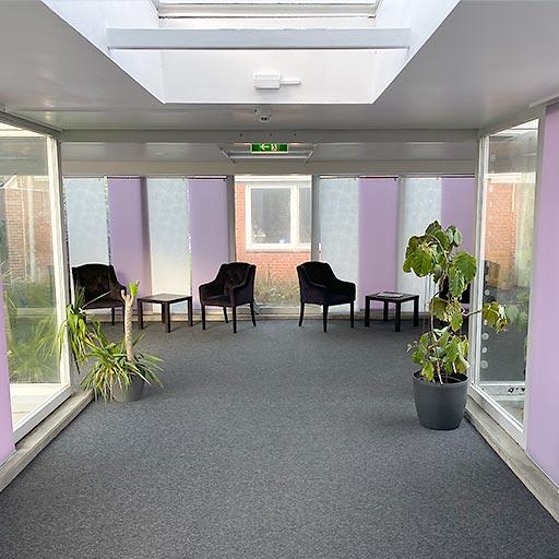 Flexible Jugendhilfe Nord – Jarplund Eingangsbereich